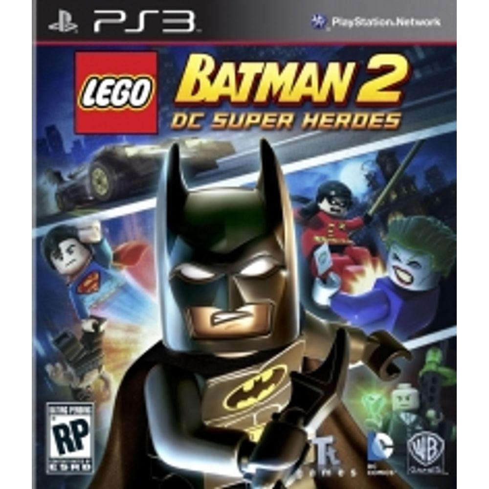 Lego Batman 2 Dc Super Heroes Ps3 Livrarias Curitiba