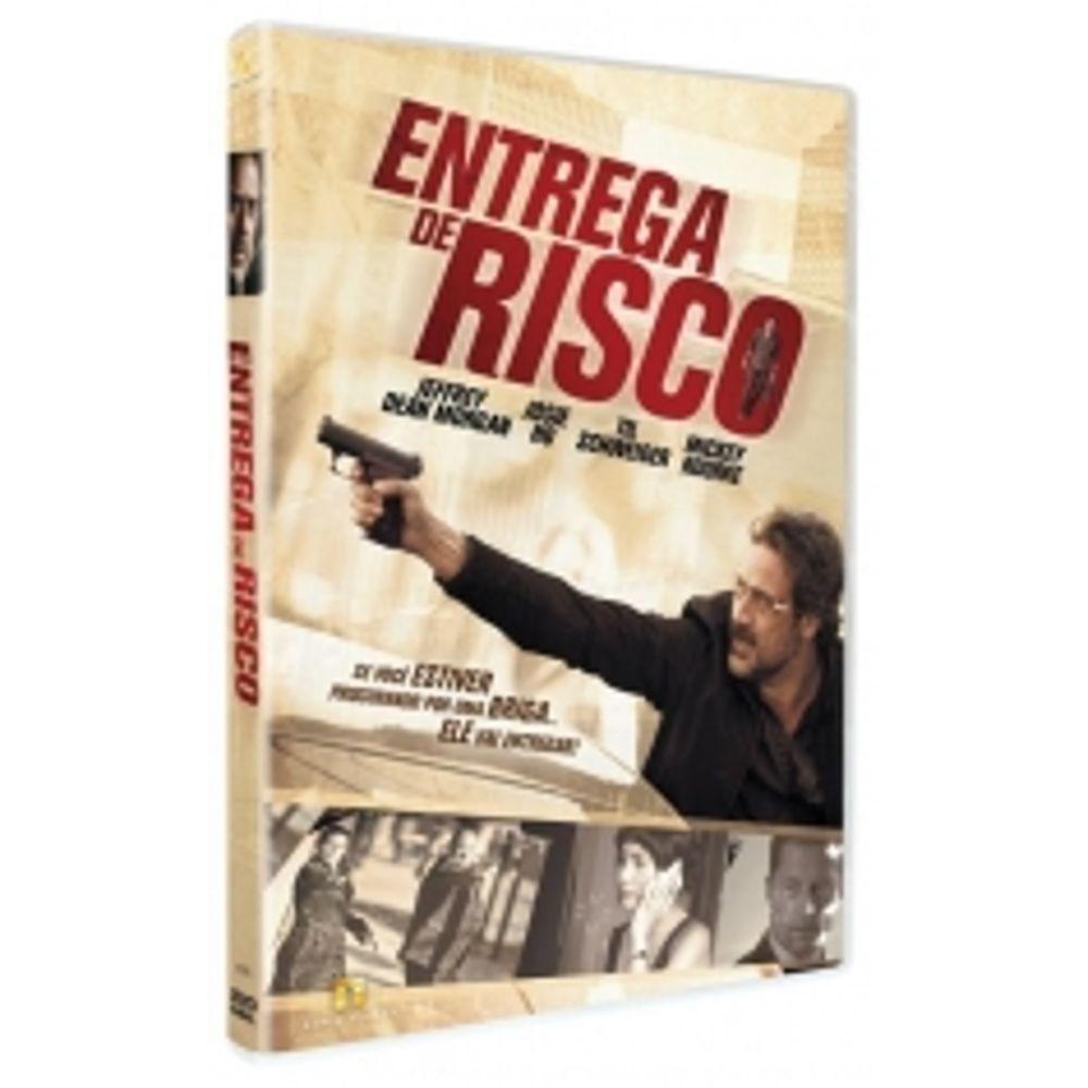 Dvd Entrega De Risco Mickey Rourke Jeffrey Dean Morgan