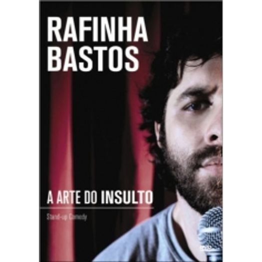 o dvd do rafinha bastos a arte do insulto