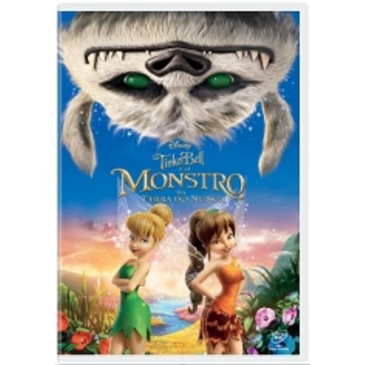 Dvd Tinker Bell E O Monstro Da Terra Do Nunca Livrarias