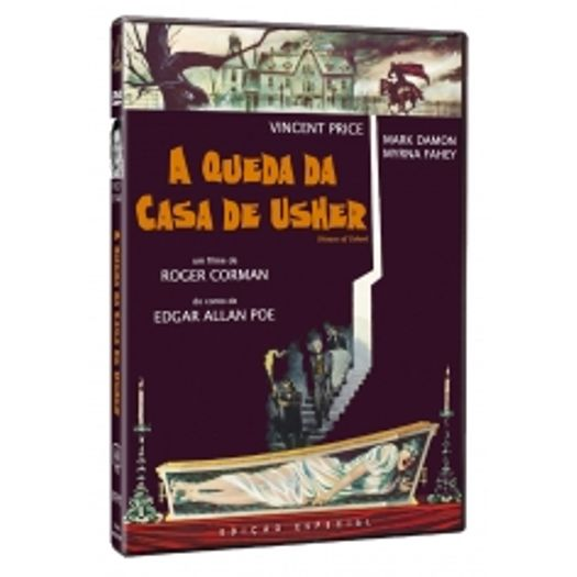 DVD A Queda Da Casa De Usher - Livrarias Curitiba
