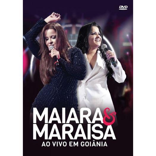 DVD Maiara & Maraisa - Ao Vivo Em Goiânia - Livrarias Curitiba