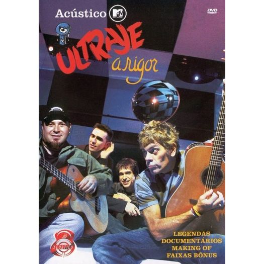 cd de ultraje a rigor acustico mtv