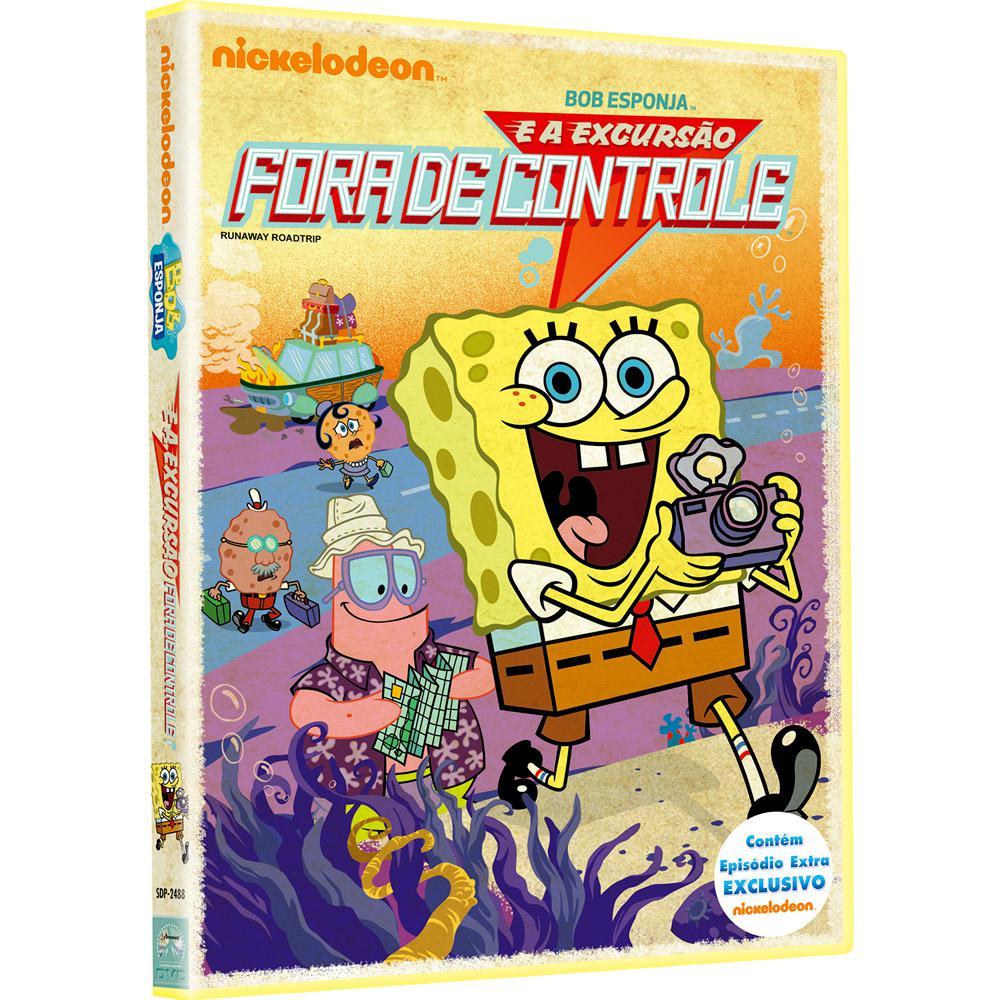 DVD Bob Esponja E A Excursão Fora De Controle - Livrarias Curitiba