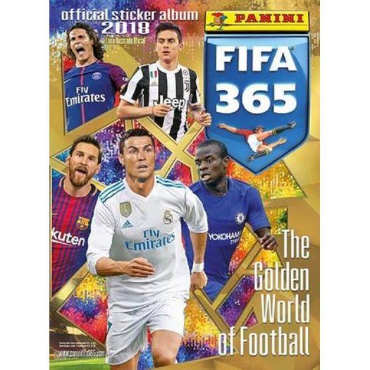 O Livro Ilustrado Oficial 2018 Panini FIFA 365 The Golden World of Football  traz um mix dos melhores jogadores e clubes de todo o mundo. 8433790550d