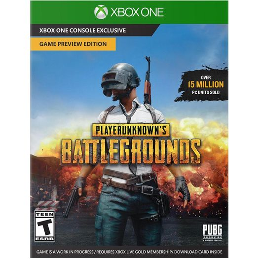 Jogo Playerunknown's Battlegrounds - Xbox One - Microsoft