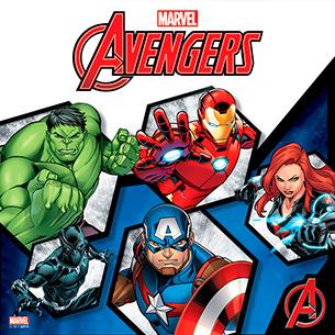 Mini Banner Avengers