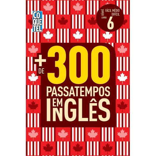 9addc29a3454d Mais De 300 Passatempos Em Ingles - Facil Medio Dificil - Livro 6 ...